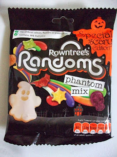 halloween themed limited edition chewy sweets in spooky shapes