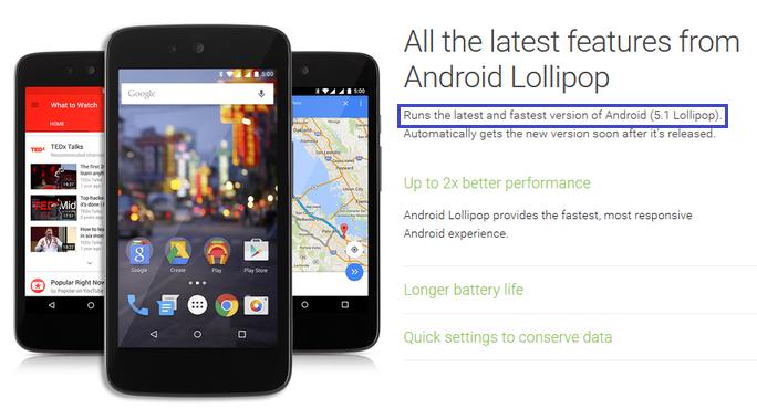 Google akan rilis Android Lollipop v5.1 di negara Indonesia