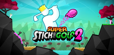super stickman golf 2, android app reviews, android golf game review, cool games for android