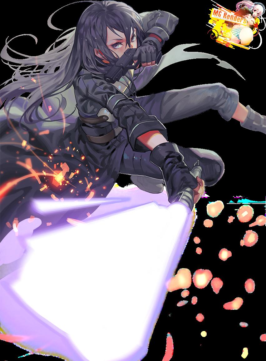 Tags: Anime, Render,  Gun Gale Online,  Kirito (Kirigaya Kazuto),  Sword Art Online, PNG, Image, Picture