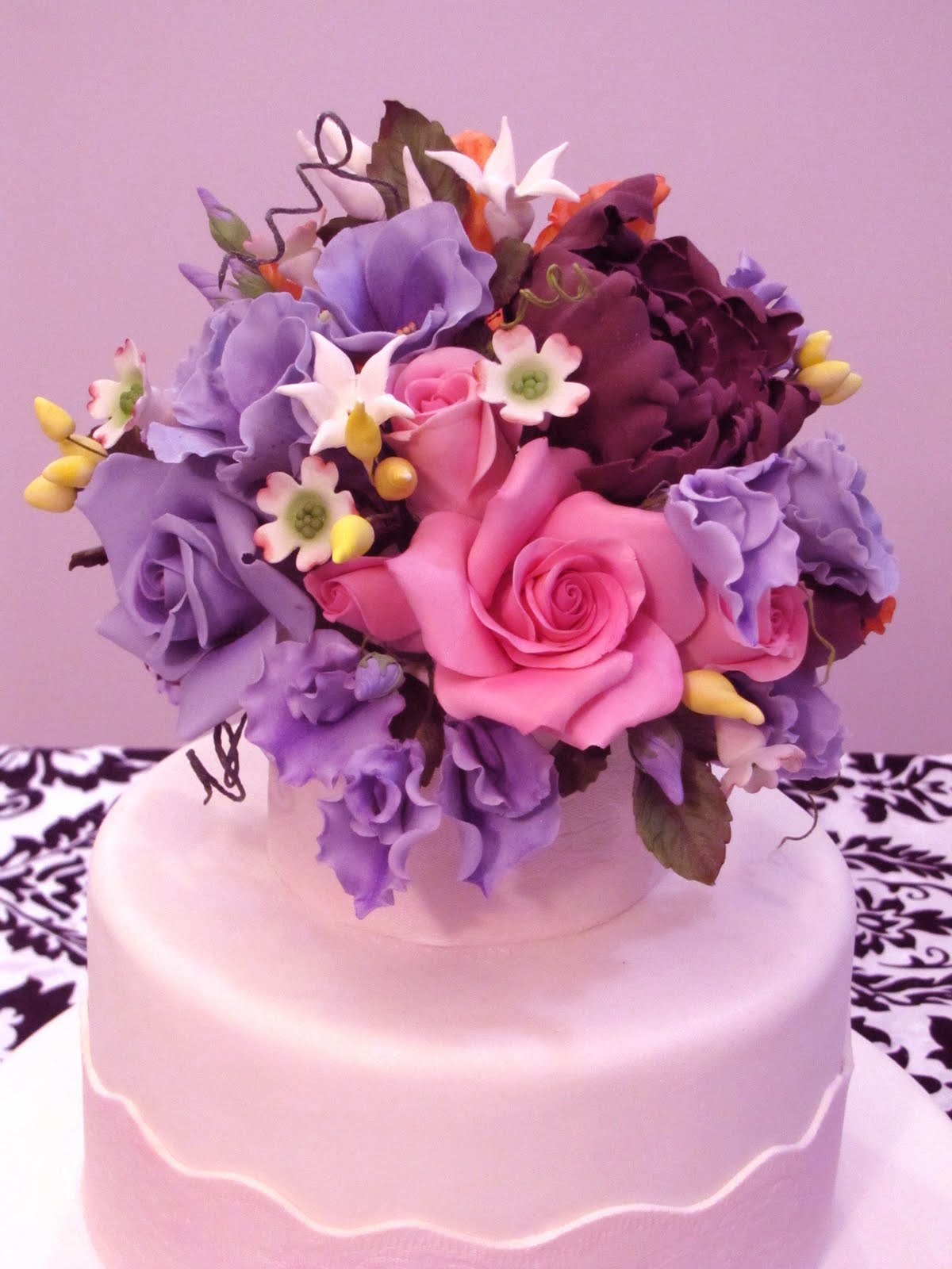 Cake Decorating Blog Ron Ben Israel Styled Wedding Cake - Ben Israel Wedding Cakes