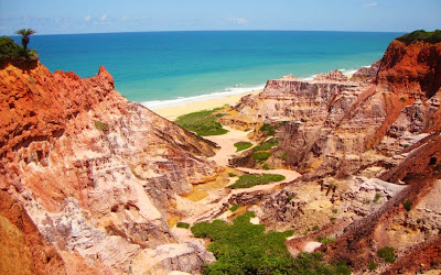 Falésias da Praia do Gunga - Alagoas