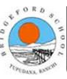 Bridgeford School Ranchi Logo