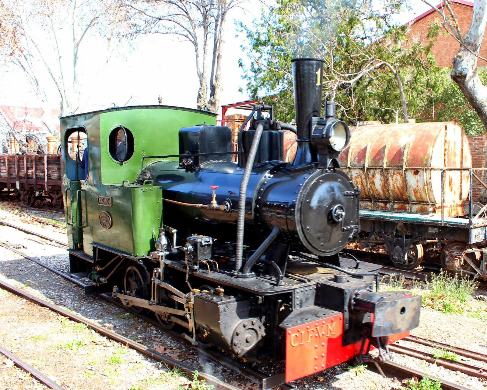 Locomotora Arganda