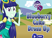 Equestria Girls Blueberry Cake