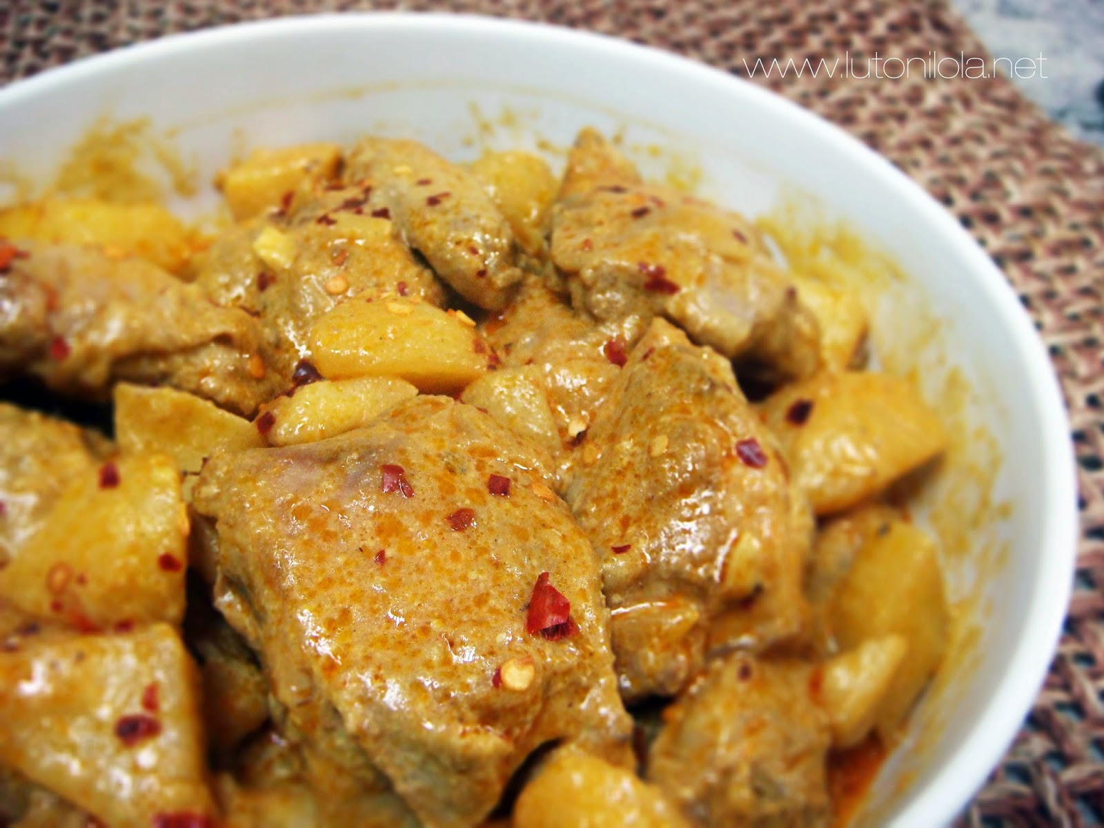 Curried Coconut Chicken Recipe ~ You n Mine Recipes