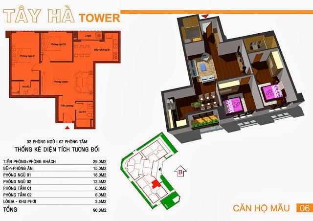 Chung Cư Tây Hà Tower, chung cu tay ha tower, 11