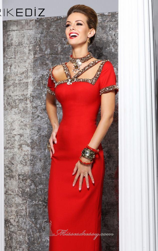 Tarik Ediz Evening Dress