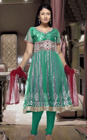 Gorgeous-Anarkali-Salwar-Suit-Dress