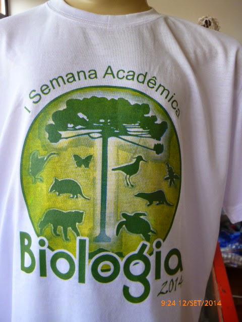 Camiseta em Poli Viscose serigrafada