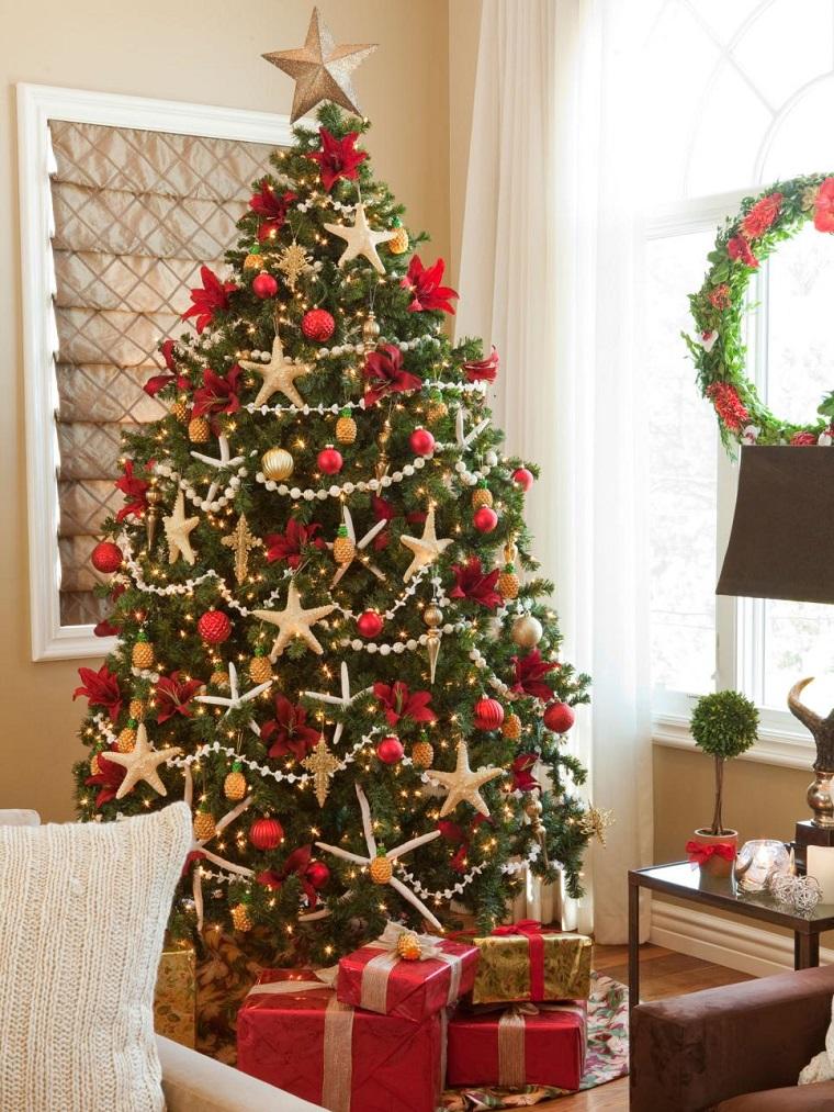 Algo pasa conmigo rboles de navidad for Arbol de navidad con bolas rojas