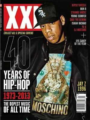 jay z portada de la revista xxl edicion especial 40 años de hip hop