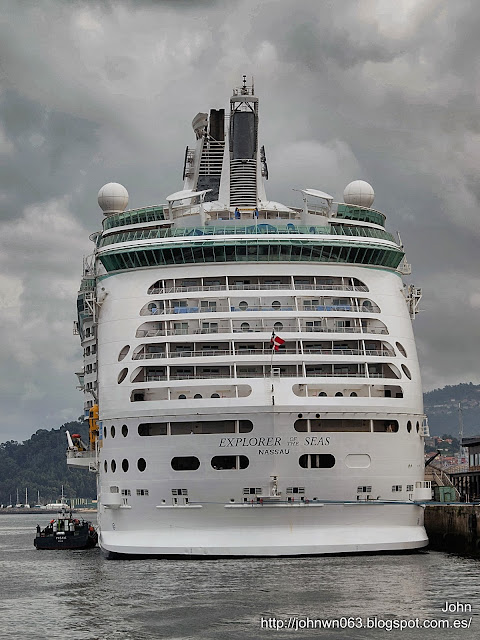 fotos de barcos, imagenes de barcos, explorer of the seas, royal caribbean, crucero, vigo
