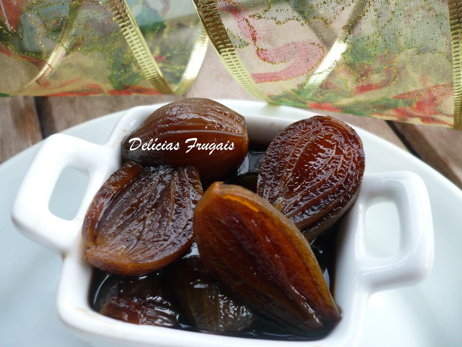 Cebola caramelada - Delícias Frugais