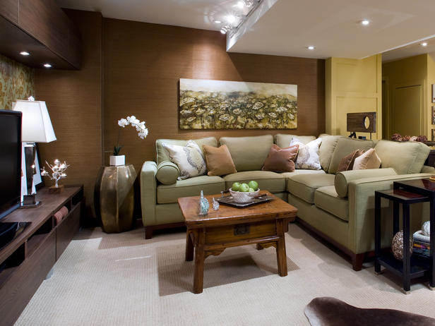 Home Furniture Ideas Basements Decorating Ideas 2012 By Candice Olson