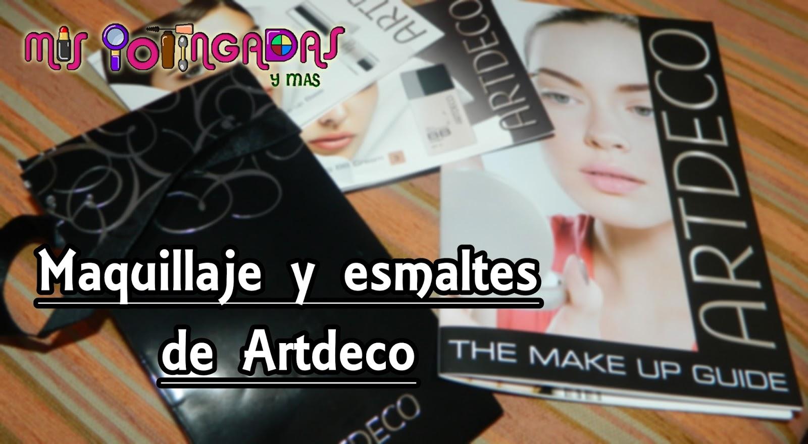 Review - Maquillaje y esmaltes Artdeco - Colaboración