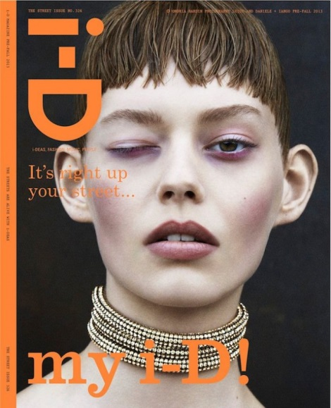 Ondria Hardin by Daniele & Iango for i-D