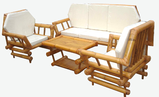 bamboo sofa set design picture bamboo furniture designs