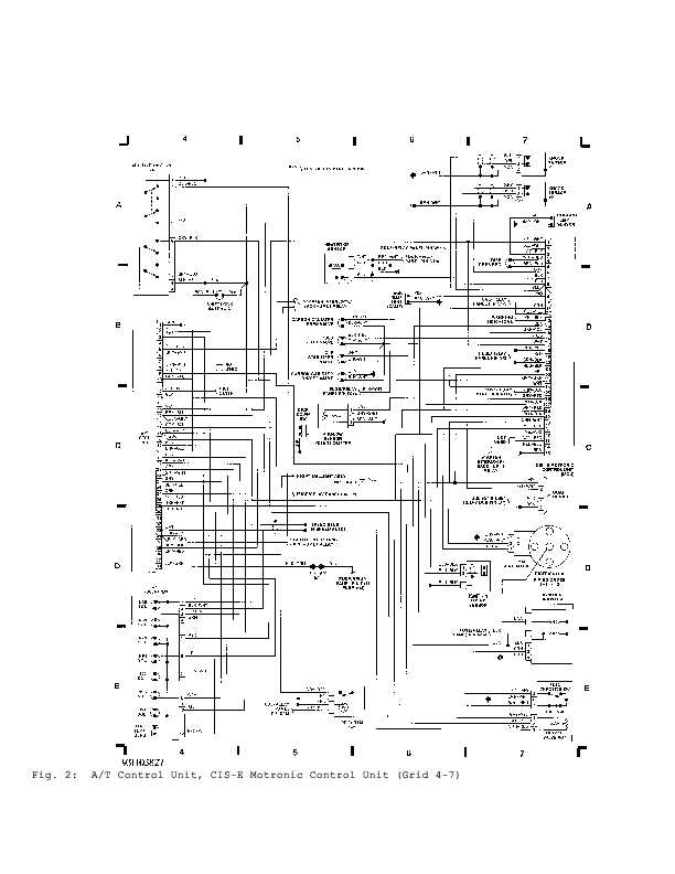 04 1992 b3 vw passat wiring diagram part 2 wiring diagrams center vw cis wiring diagram at aneh.co