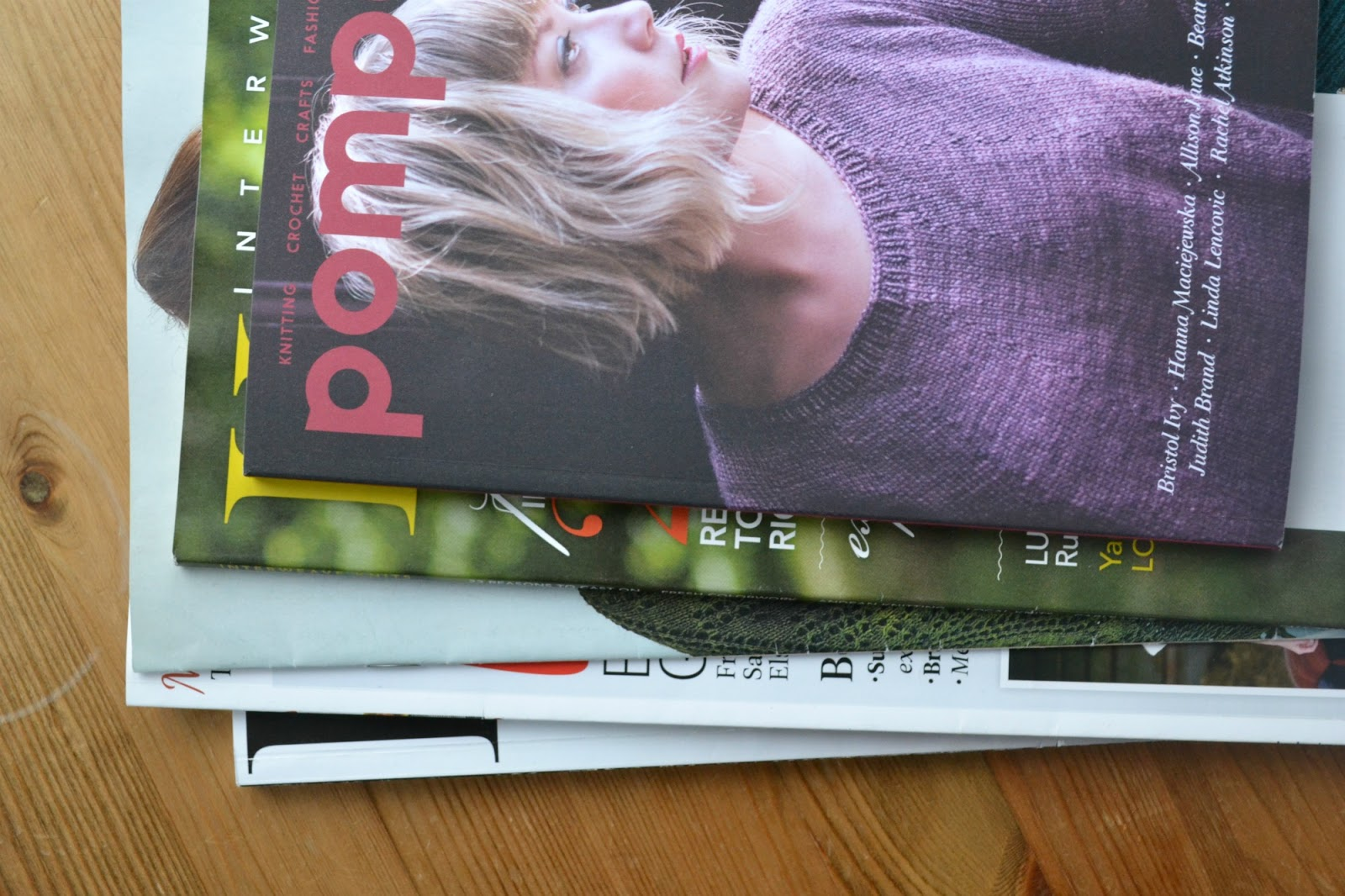 pompom quarterly magazine knitting