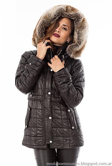 Otoño invierno 2015 Camperas de mujer. Moda otoño invierno 2015, colección Activity.