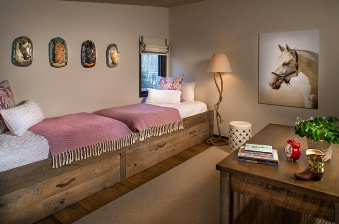 Dormitorios r sticos para ni os dormitorios colores y for Decoracion de habitaciones rusticas