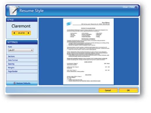 Resume maker online free