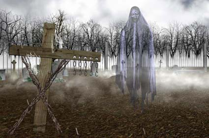 The Cementery in the Woods