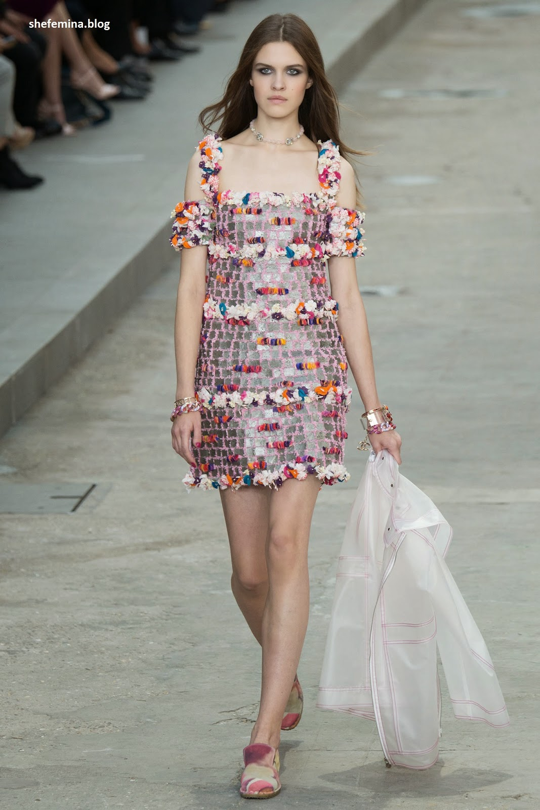 Chanel Spring 2015 dresses HD wallpaper 16