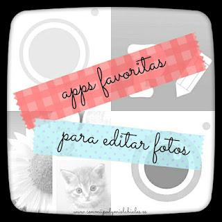 Apps favoritas para editar fotos