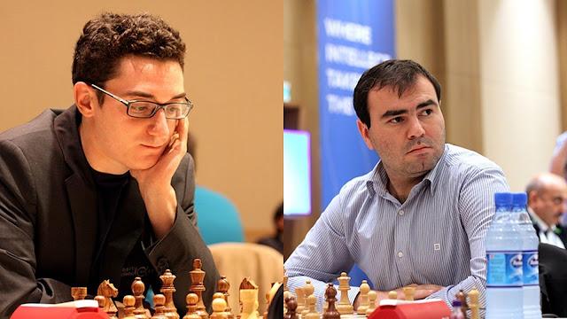 Copa del Mundo de Ajedrez - Fabiano Carurana - Shakhriyar Mamedyarov