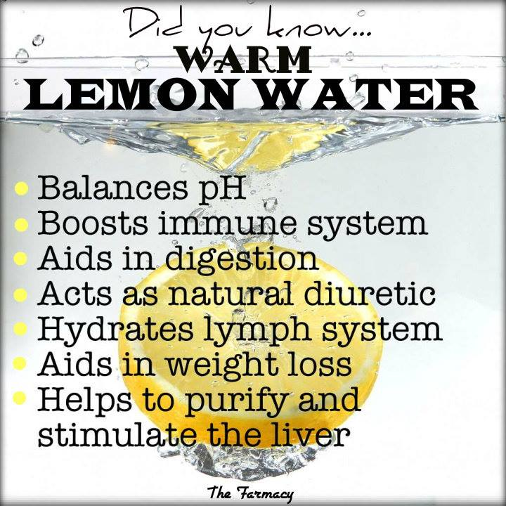 Is It Good To Drink Warm Lemon Water Before Bed