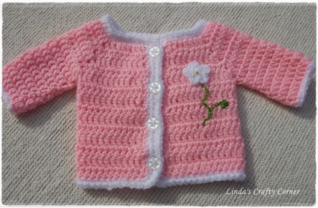 cardigan, jacket, baby,preemie, easy crochet