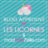 Blog approuvé par les licornes, oui