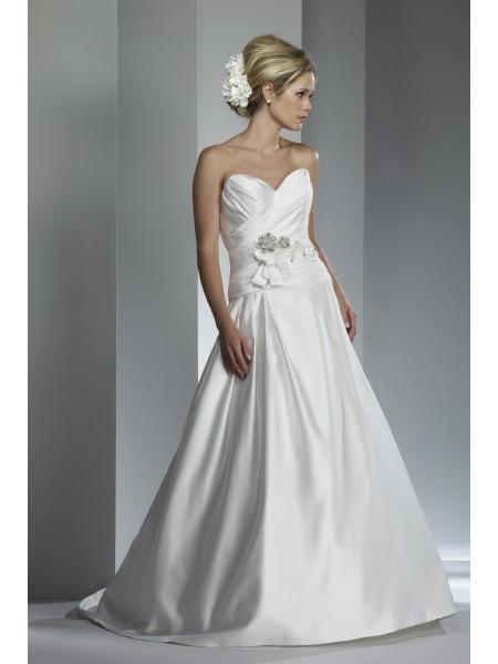 vestidos de novia baratas: Romper este molde que tiene un vestido de ...