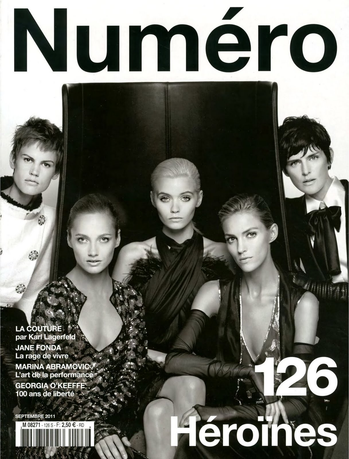 Various Models - Numéro #126, September 2011