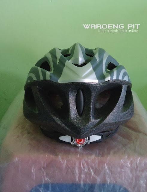 Jual Helmet Wim Cycle silver sepeda balap murah 3