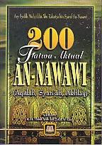 toko buku rahma: buku 200 fatwa an-nawawi, pengarang asy-syeikh muhyiddin abu zakariya bin syaraf an-nabawi, penerbit pustaka setia