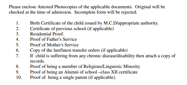 Neo Convent Sr. Sec. School Nursery Admission 2015-16 Paschim Vihar New Delhi