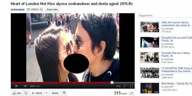 Foto dan video ciuman desta dan alyssa 83