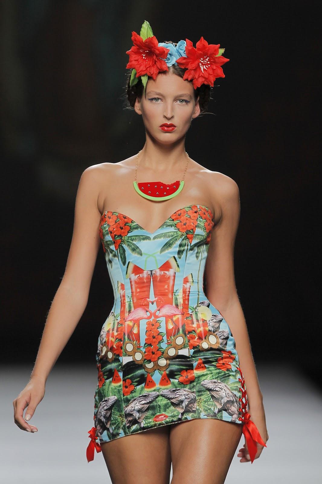 Maya Hansen Gaudi Fashion Show