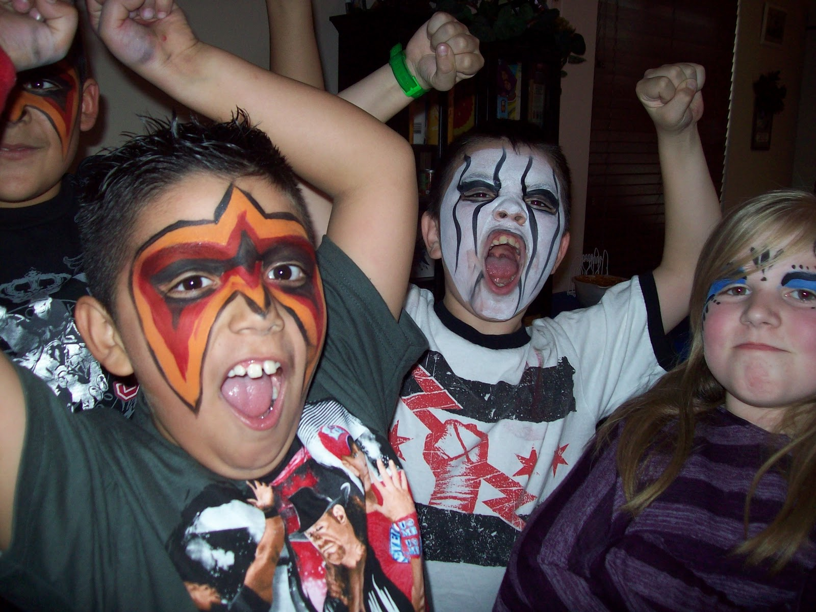 face painting in arizona: ultimate warrior face painting