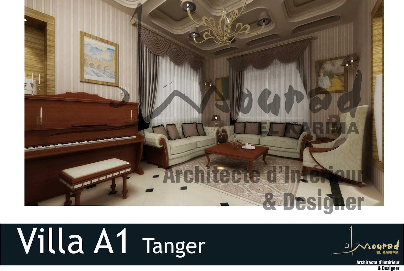 Mourad El Karima Architecte D 39 Interieur Designer