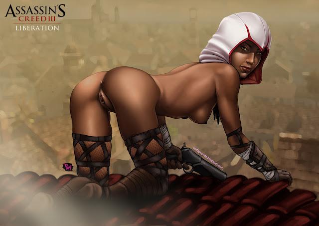 Assassin'S CRE ED III / pupete :: r34 (тематическое порно/thematic por