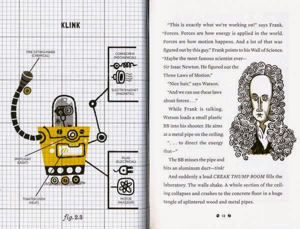 A bookshelf monstrosity for Frank einstein and the antimatter motor