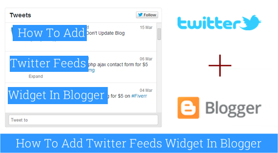 How to Add Twitter Widget to Blogger Blog : eAskme