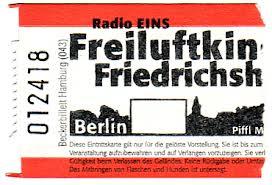 Freiluftkino Berlin - Friedrichshain