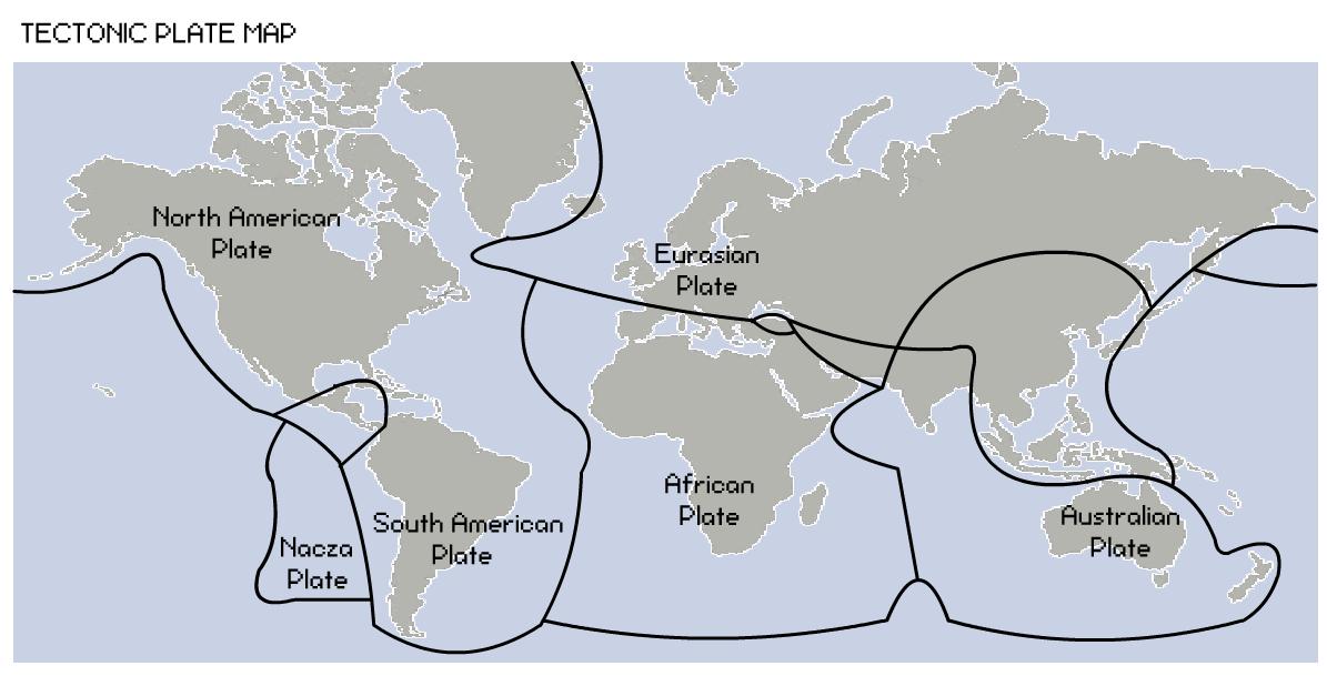 La corteza terrestre est rota Hace 225 millones de aos los