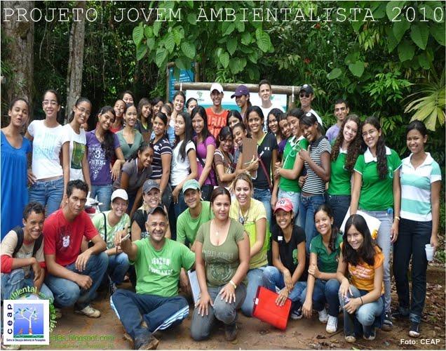 Projeto Jovem Ambientalista Turma de  2010 - 5ª turma