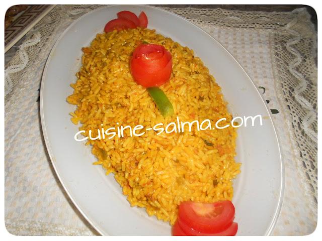 طبق، أرز. روز